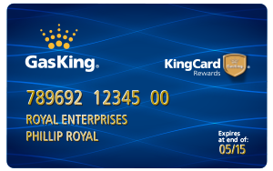 Gas King Charge Card