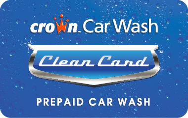 Crown Car Wash Card