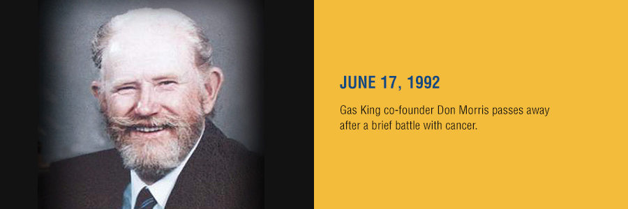 Gas King - History Timeline - June 17, 1992