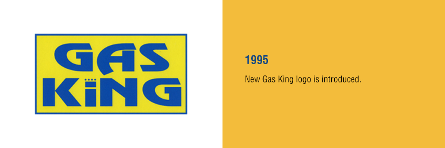 Gas King - History Timeline - 1985