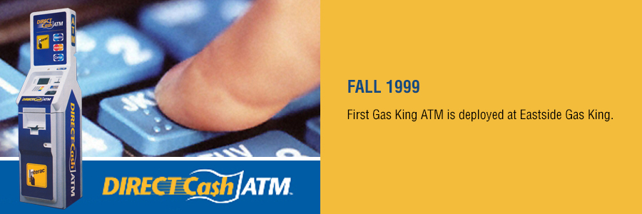 Gas King - History Timeline - Fall 1999