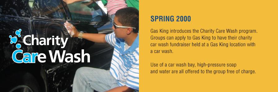 Gas King - History Timeline - Spring 2000