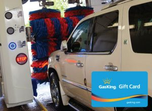 Gas King Gift Card For Car Washes